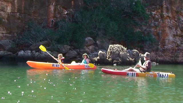 kayak yardie creek