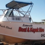 5.5m hire boat exmouth