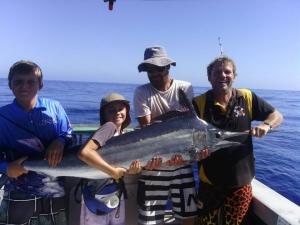 Blue Marlin Fishing @ Tantabiddi Boat ramp